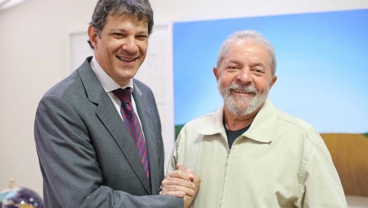 Fernando Haddad sustituirá a Lula en la carrera por la Presidencia.