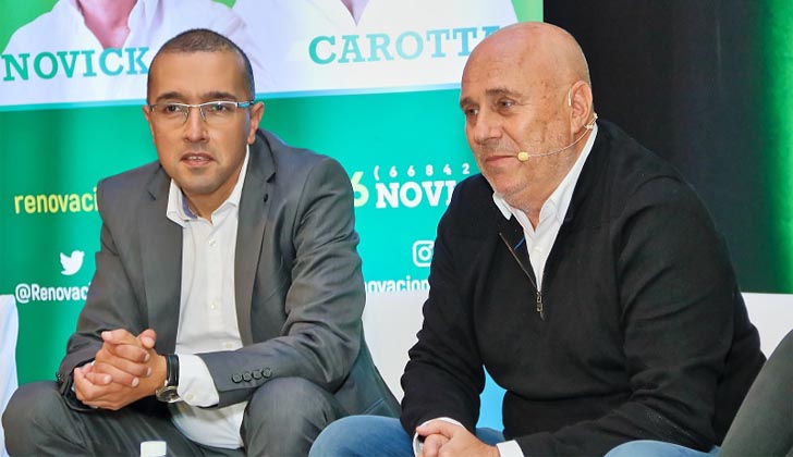 Fernando Carotta y Edgardo Novick.