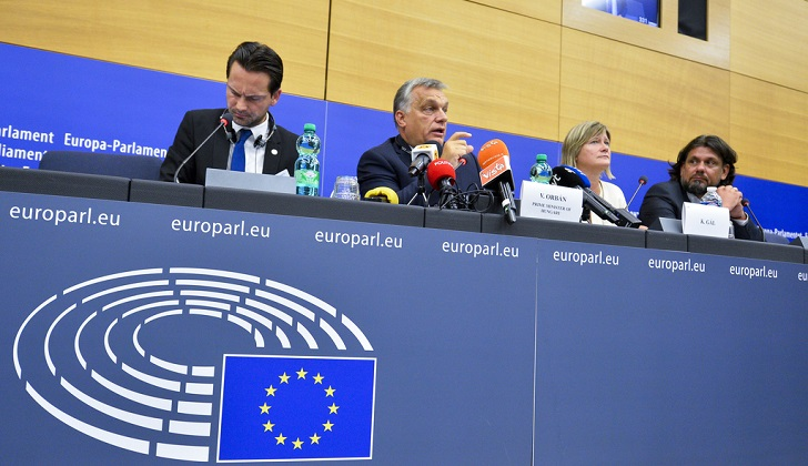 EP Press conference following the plenary debate on the Situation in Hungary