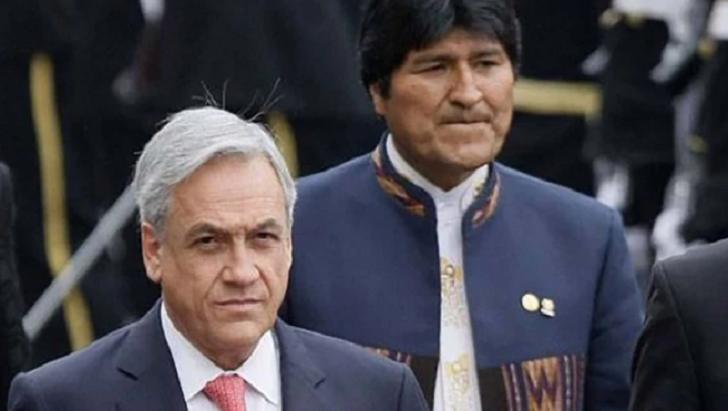 """Piñera a Morales: """"Los países honorables honran los tratados que firman"""". Foto ilustrativa."""