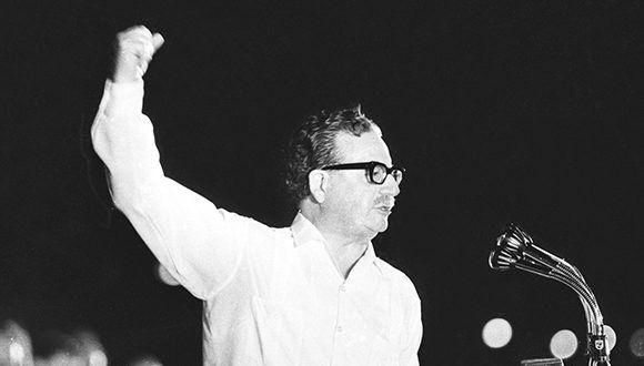 Salvador Allende. Foto: Archivo