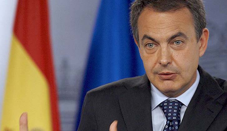Ex presidente del gobierno español, José Luis Rodríguez Zapatero.