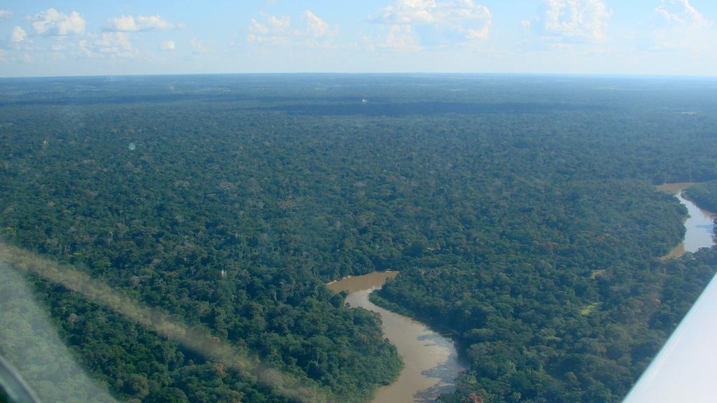 Imagen aérea de la región de Ipixuna, Amazonas, Brasil. Foto: flickr.com/photos/vihh