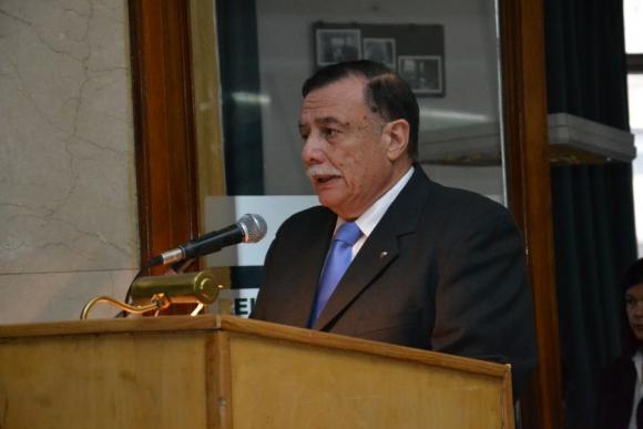 Carlos Silva Valiente, presidente del Centro Militar. Foto cortesía del archivo de El País