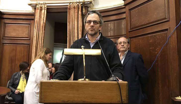 Nuevo rector de la Universidad de la República, Rodrigo Arim. Foto. UDELAR.