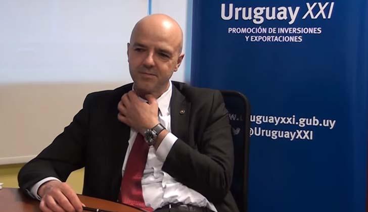 Director ejecutivo del instituto Uruguay XXI, Antonio Carámbula.