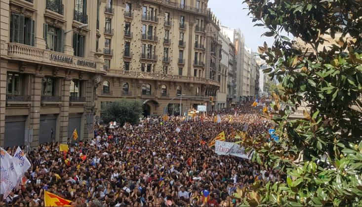 Cataluña conmemora el primer aniversario del 1-O