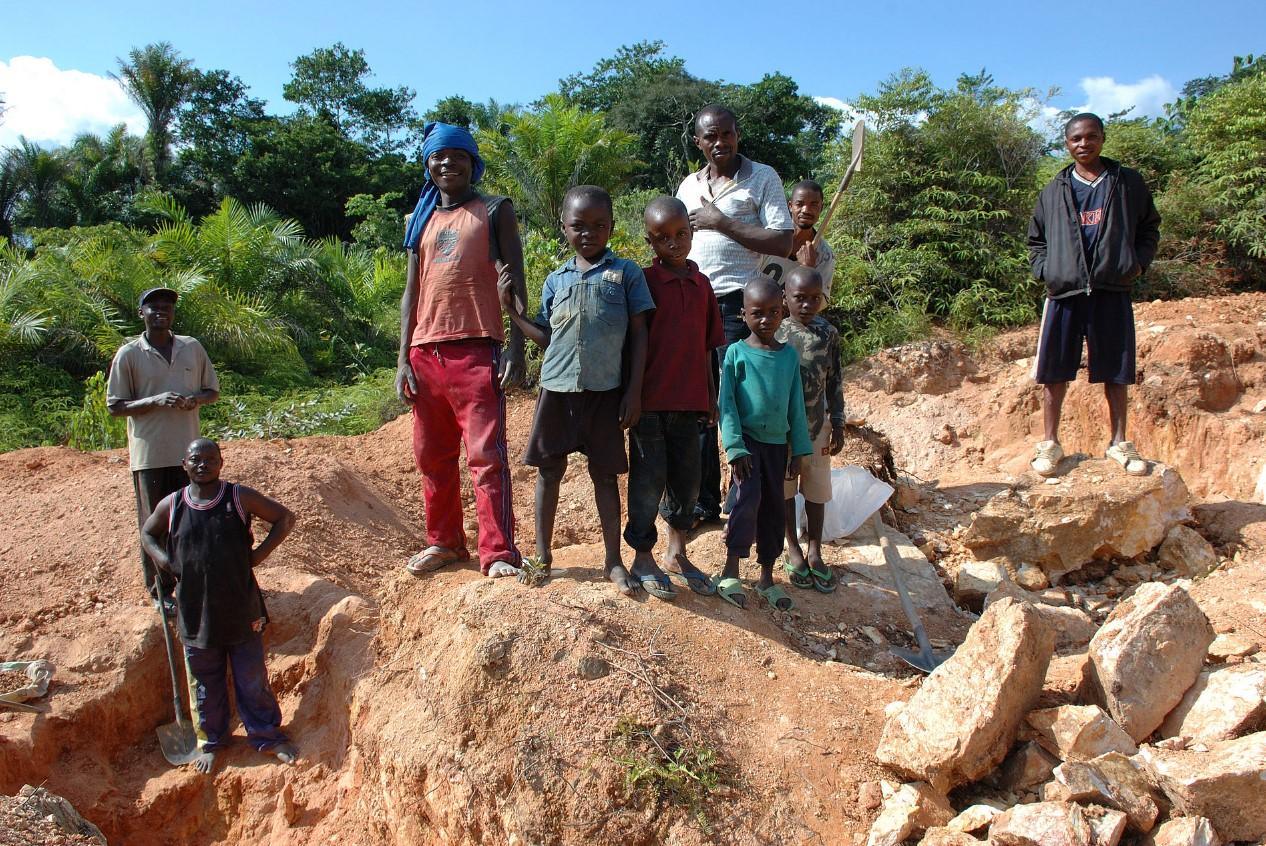 """Algunos niños en África """"heredan"""" de sus familiares la esclavitud. Foto: Wikimedia Commons"""