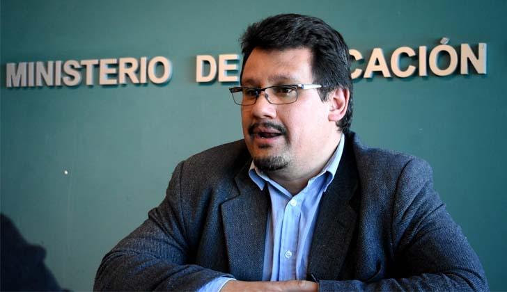Director de Asuntos Constitucionales, Legales y Registrales del Ministerio de Educación y Cultura, Pablo Maqueira.