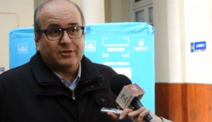 Fernando Saralegui, director del Correo por el Partido Nacional.