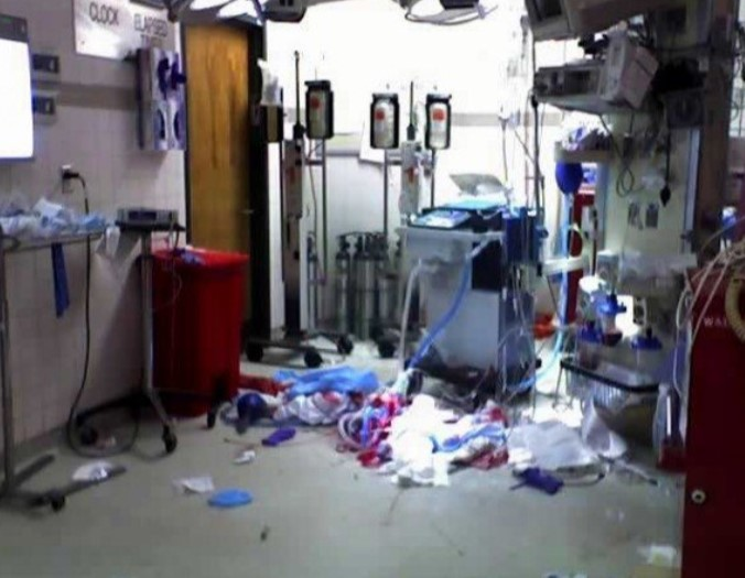 """Dra. Karen Stevens: """"Hey, NRA, soy una enfermera de trauma y trabajé por años en el primer nivel de atención de trauma en una clínica de Fresno. Así como se veía mi lugar de trabajo""""."""