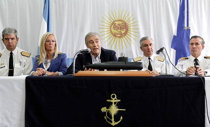 Ministro de Defensa argentino descarta reflotar el ARA San Juan.