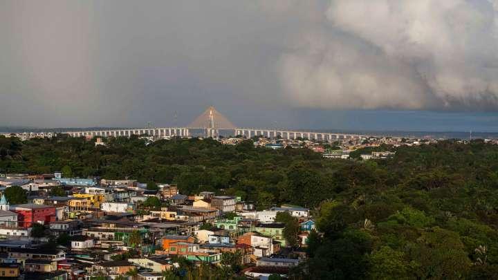Manaus, Brasil, ciudad insertada directamente en la Amazonia. Foto: Proyecto AmazonFACE