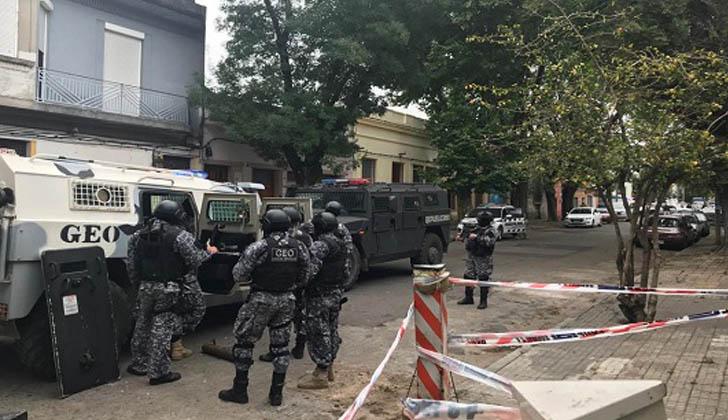 Operativo del GEO. Foto: Ministerio del Interior.