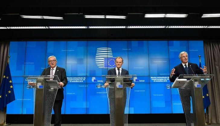 Nuevo paso hacia la retirada: la Cumbre de la UE dice sí al acuerdo del Brexit.
