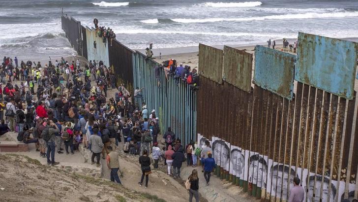 Caravana de migrantes cumple un mes de recorrido, algunos integrantes ya arribaron a la frontera con EE.UU.