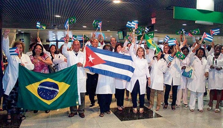 """Cuba retira once mil médicos de Brasil ante declaraciones """"amenazadoras"""" de Bolsonaro. Foto: archivo Congreso médicos 2013"""