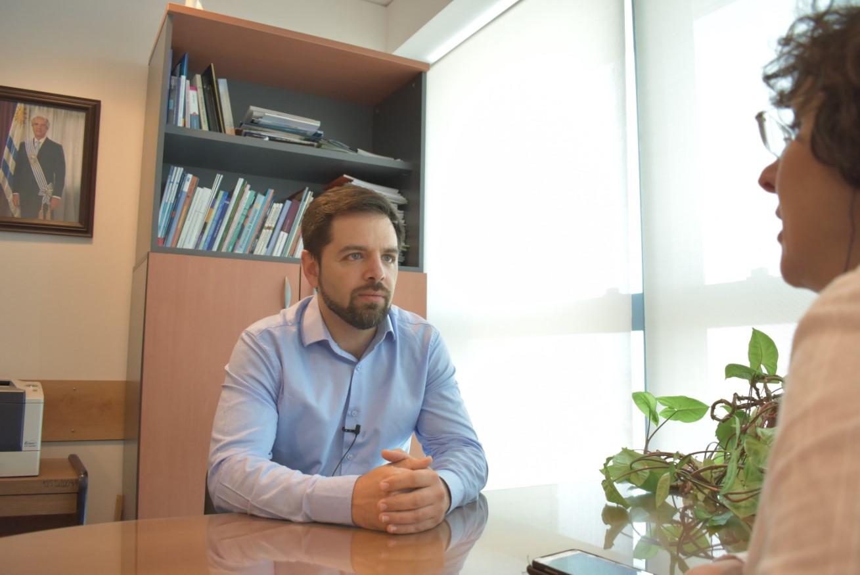 Foto: Diego Olivera, director de la Junta Nacional de Drogas
