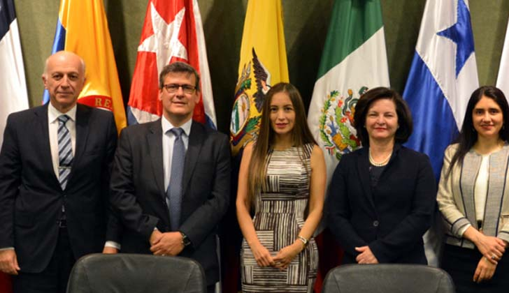 Fiscales generales del MERCOSUR. Foto: Fiscalía General de la Nación.