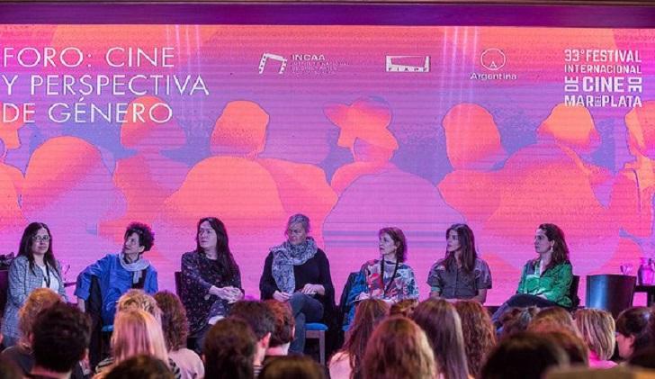 El Festival de Cine de Mar del Plata tuvo un Foro de Perspectiva de Género.