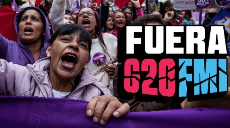 """Comienza en Argentina """"La Cumbre de los Pueblos"""", en repudio a la llegada del G-20."""
