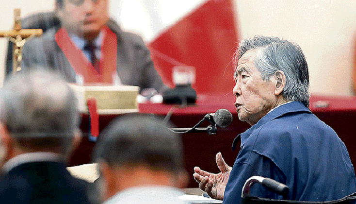 Perú: Formalizan denuncia penal contra Fujimori por esterilizaciones forzadas