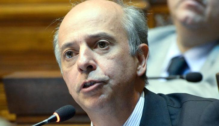 Senador Javier García (Partido Nacional).