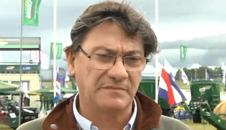 Presidente de la Confederación de Cámaras Empresariales de Uruguay, Gerardo García Pintos