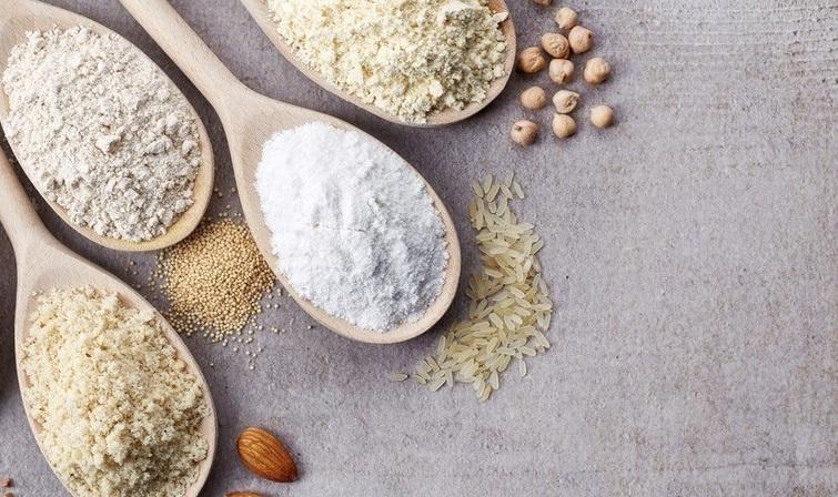 Alternativas saludables a la harina de trigo refinada.