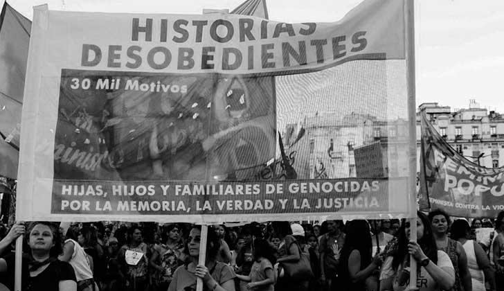 Lazos rotos, memorias vivas. Foto: Facebook Historias Desobedientes