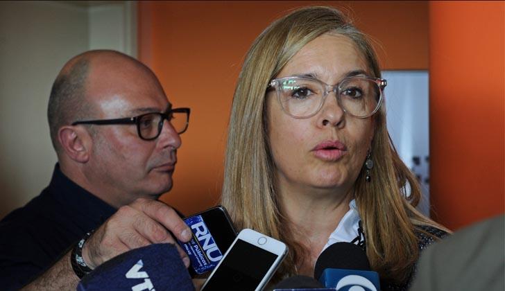 Presidenta de ANCAP, Marta Jara. Foto: Presidencia de la República.