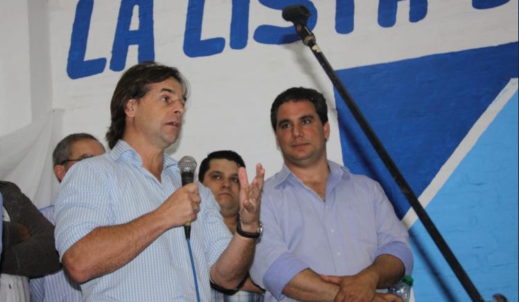 Lacalle Pou: Quien prometa que va a bajar impuestos al asumir la Presidencia, está mintiendo. Foto: @JRadiccioni