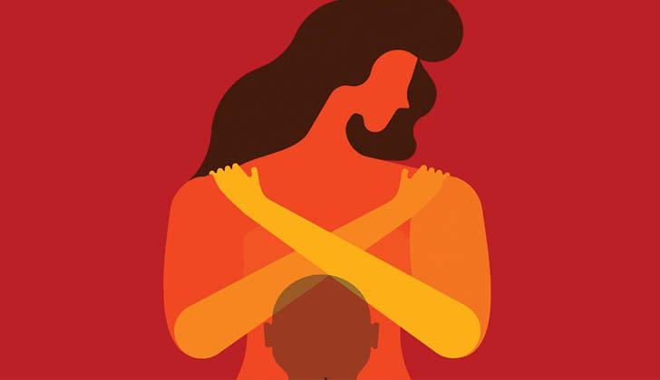 """Ilustración de la página interactiva de ONU Mujeres titulada """"Violencia contra las mujeres: Hechos que todo el mundo debe conocer"""". ONU Mujeres."""
