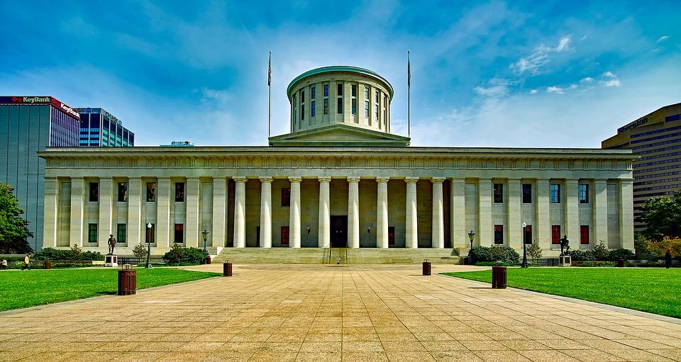 Capitolio del estado de Ohio. Foto: Pixabay