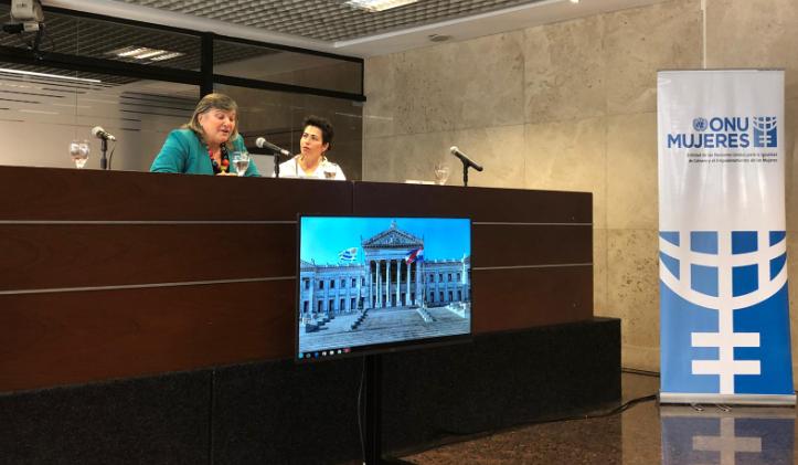 """ONU Mujeres: """"Uruguay ya está listo para tener una presidenta""""."""