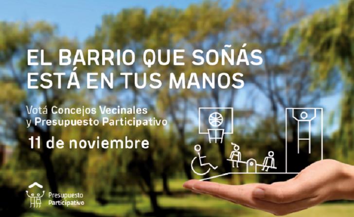 El próximo domingo será la elección del Presupuesto Participativo y Concejos Vecinales de Montevideo.