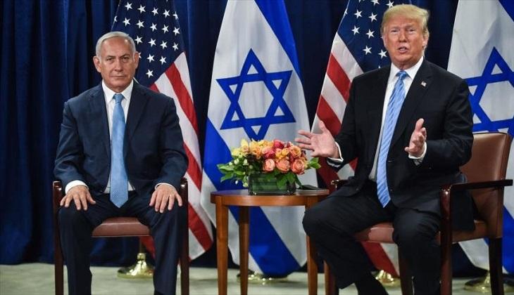"""Trump: """"Las tropas de EE.UU. permanecerán en Medio Oriente por Israel""""."""