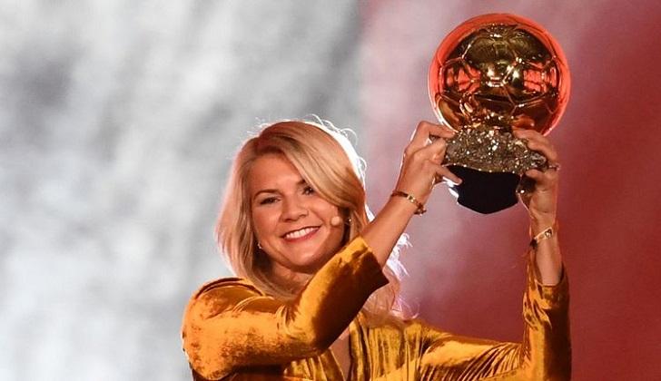 Ada Hegerber gana primer Balón de Oro femenino