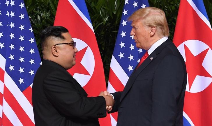 """Corea del Norte advierte que las sanciones de EE.UU. podrían """"bloquear la desnuclearización""""."""
