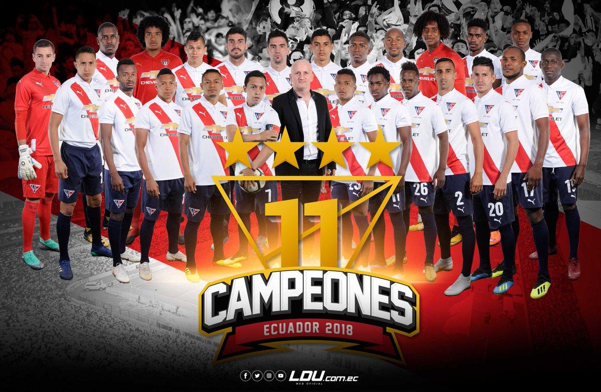 Liga de Quito vuelve a reinar ocho años después