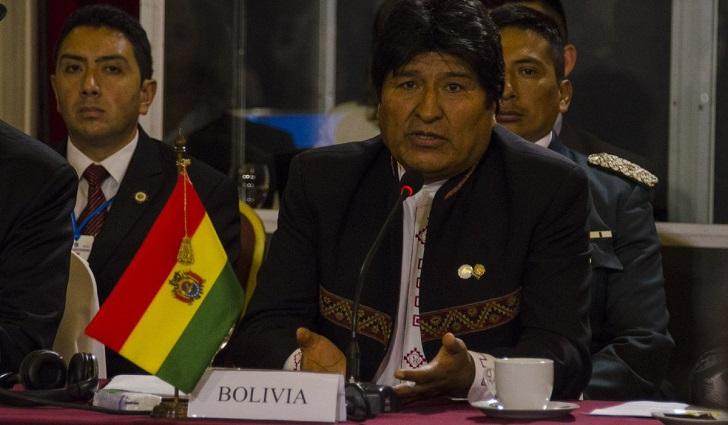 """Evo rechaza """"injerencia"""" de la UE y EEUU sobre elecciones en Bolivia ."""