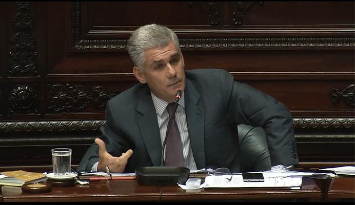 Rodrigo Goñi plantea un plan de emergencia para el sector lácteo.