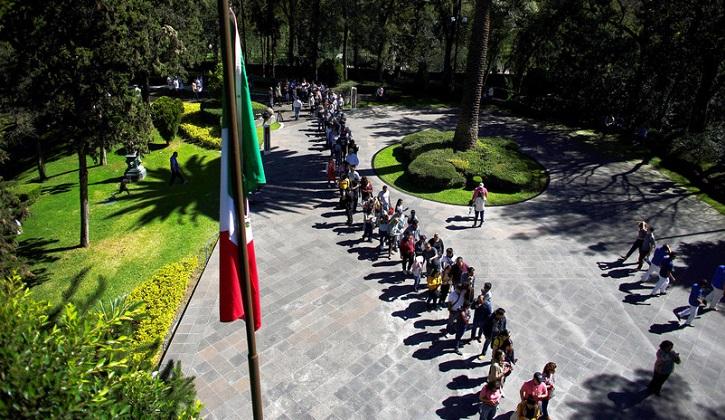 Las lujosas instalaciones de la casa presidencial de México ahora son un centro cultural.