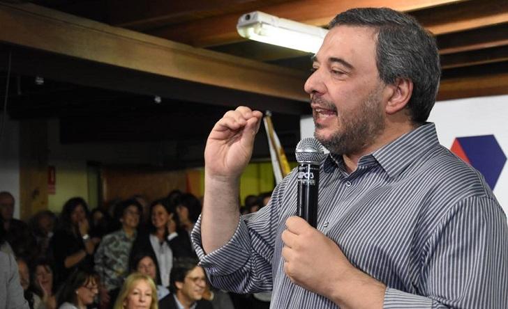 """Bergara ante un cuarto gobierno:""""hay que renovar íntegramente el gabinete"""". Foto: archivo Facebook Mario Bergara"""