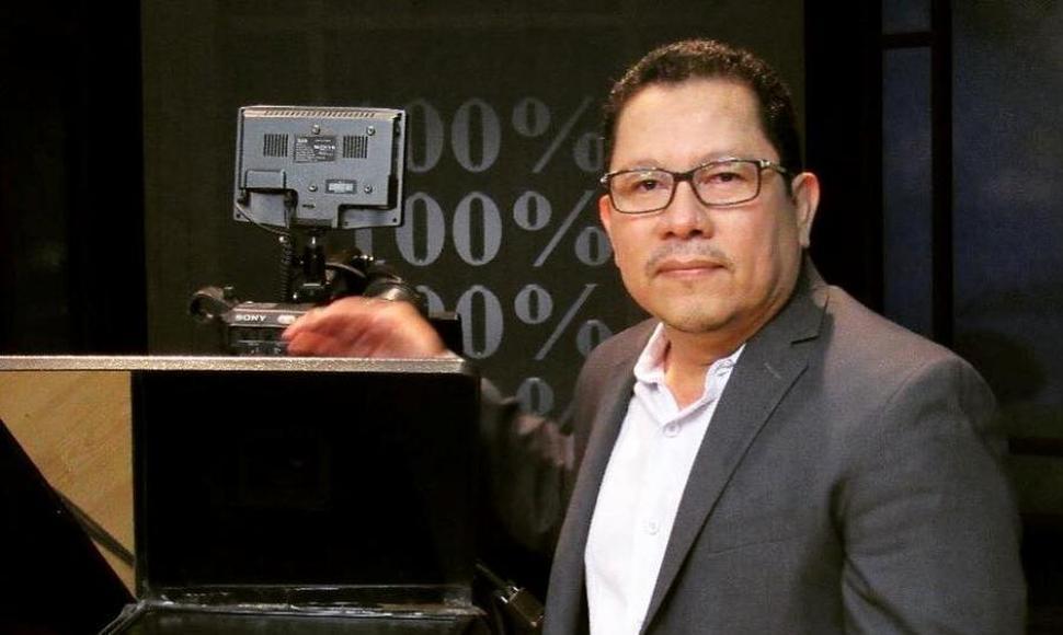 Miguel Mora, director de 100% Noticias