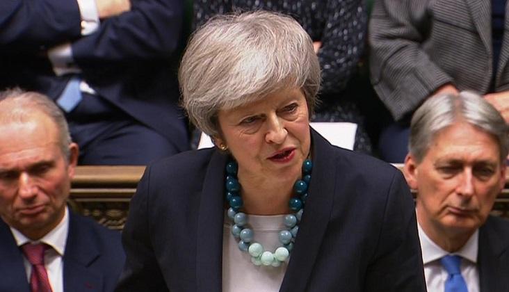 May postergó la votación del Brexit ante la falta de apoyo.
