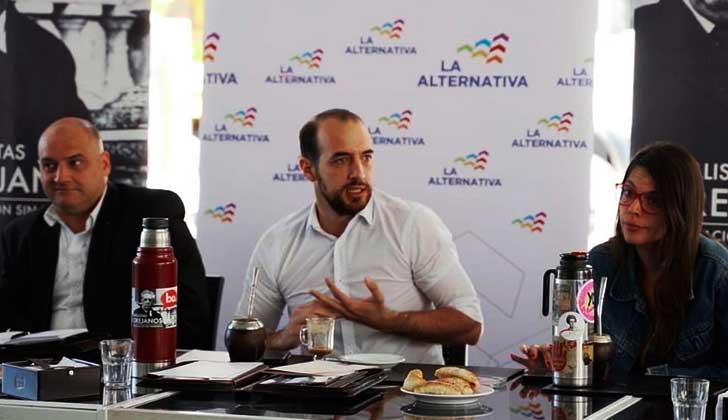 """Fernando Amado: """"Nosotros no nos sentimos oposición, nos sentimos alternativa""""."""