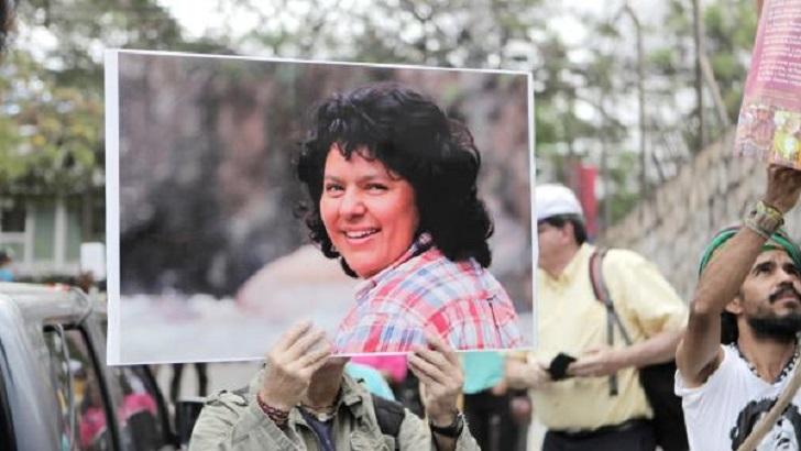 """Familia de Berta Cáceres: """"Habrá condenas, pero mientras no estén todos no habrá justicia""""."""