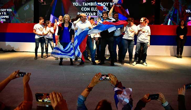 El FA aprobó su programa de gobierno y proclamó a sus cuatro candidatos. Foto: @Frente_Amplio