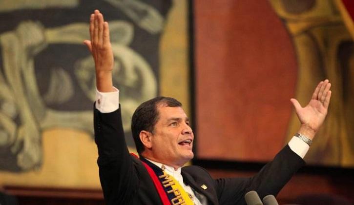Interpol rechaza petición para arrestar y extraditar a Correa